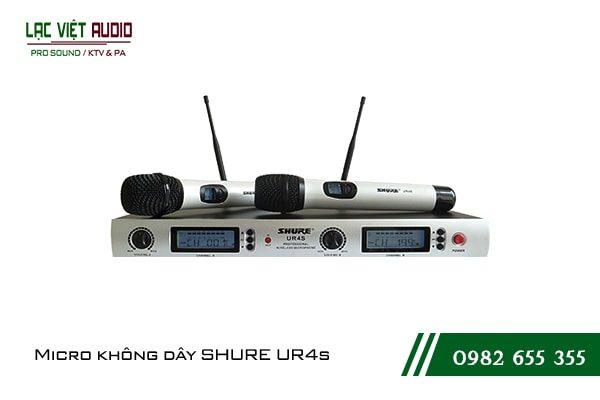 Giới thiệu sản phẩmMicro Shure UR4S