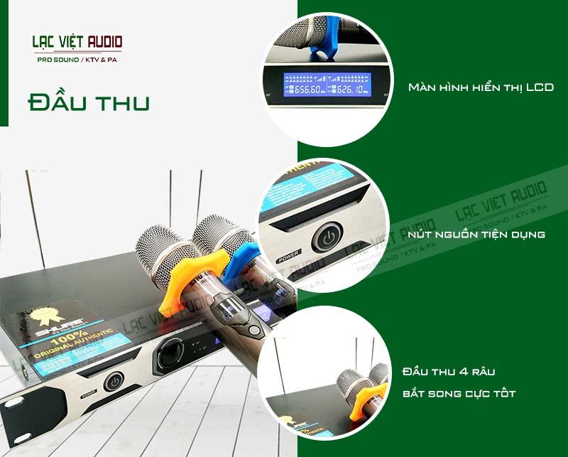 Các tính năng đặc biệt và nổi bật của sản phẩmMicro shure UR9D