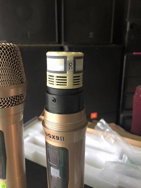 Tay cầm micro shure UGX9II