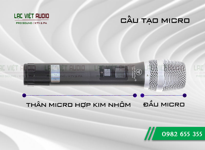 Sản phẩm Micro VinaKTV USS-1000plus