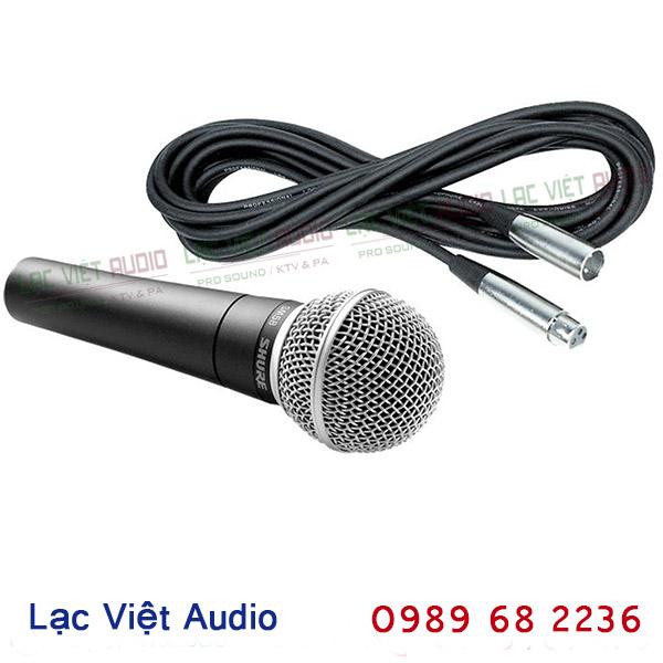 Micro có dây Shure SM58-LC