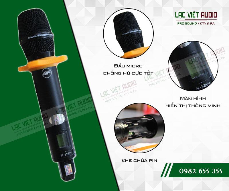 Các tính năng nổi bật của sản phẩmMicro BFaudio K309D+