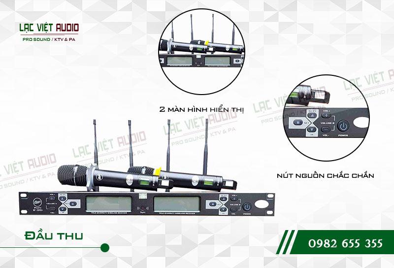 Thiết kế bên ngoài của sản phẩmMicro BFaudio K309D+