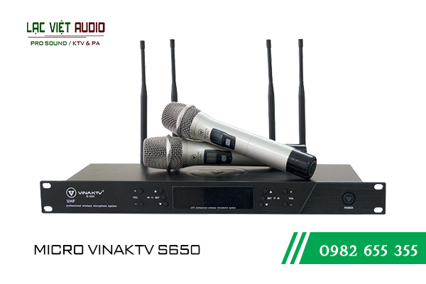 Sản phẩm Micro VinaKTV S650