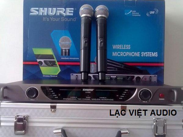 Micro không dây Shure