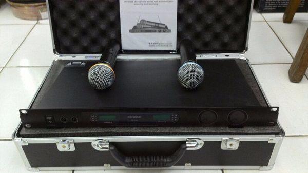 Micro shure chất lượng tại Lạc Việt Audio