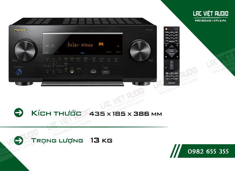 Thiết kế bên ngoàiAMPLI ĐA KÊNH PIONEER VSX LX503 hiện đại và sang trọng