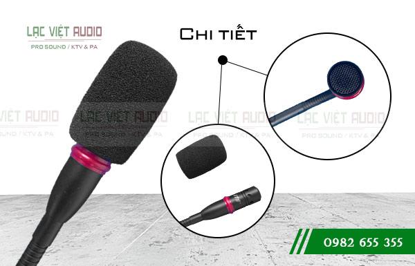 Thiết kế đầu Micro cổ ngỗng JTS GM-5212L