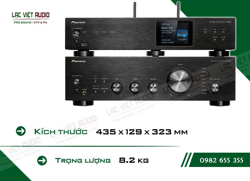 Các linh kiện bên trong Ampli nghe nhạc Pioneer A 40AE chất lượng, được kiểm tra nghiêm ngặt