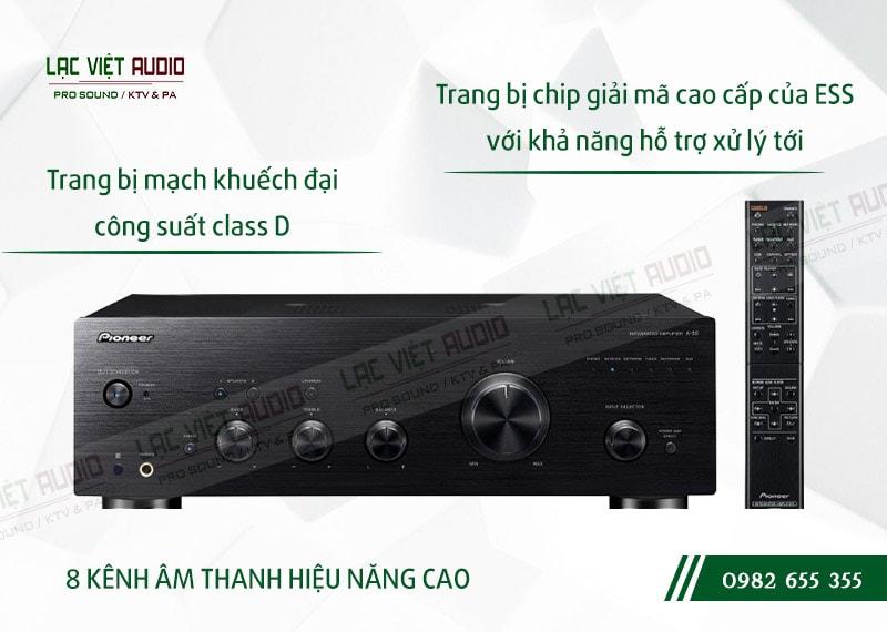 Các đặc điểm nổi bật của sản phẩmAmpli nghe nhạc Pioneer A 50DA