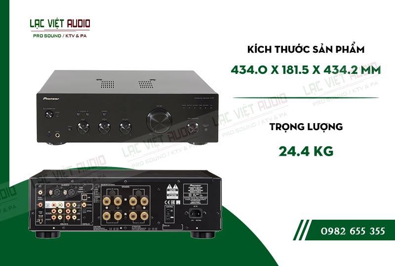 Các linh kiện bên trong Ampli nghe nhạc Pioneer A 50DA chất lượng, được kiểm tra nghiêm ngặt