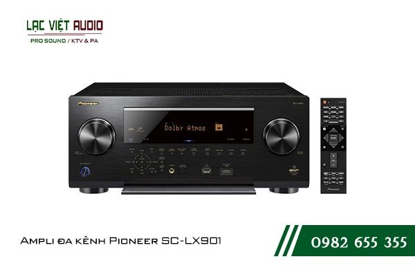 Một số giới thiệu tổng quan về sản phẩmAmpli đa kênh Pioneer SC LX901
