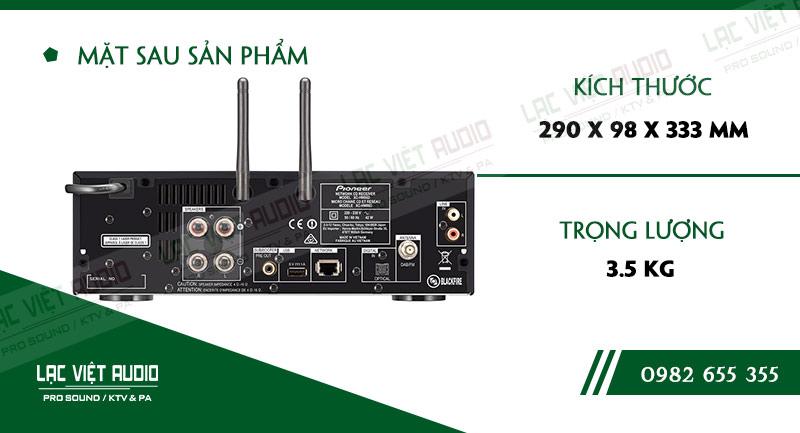 Thông số kỹ thuật của sản phẩmAmpli nghe nhạc đa kênh Pioneer XC HM86D