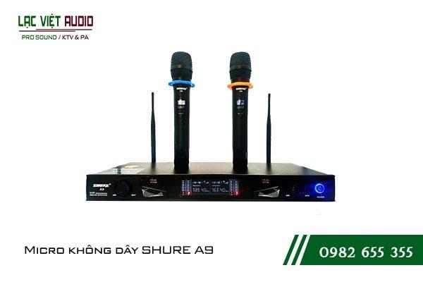 Giới thiệu sản phẩmMicro Shure A9