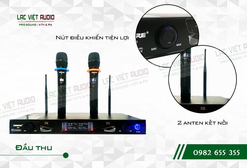 Các tính năng đặc biệt và nổi bật của sản phẩmMicro Shure A9
