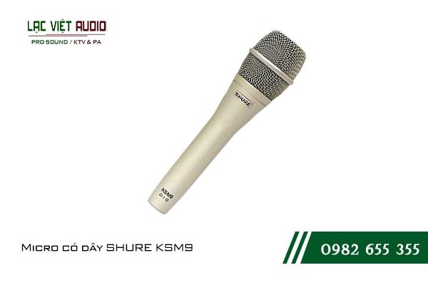 Giới thiệu về sản phẩmMicro có dây SHURE KSM9