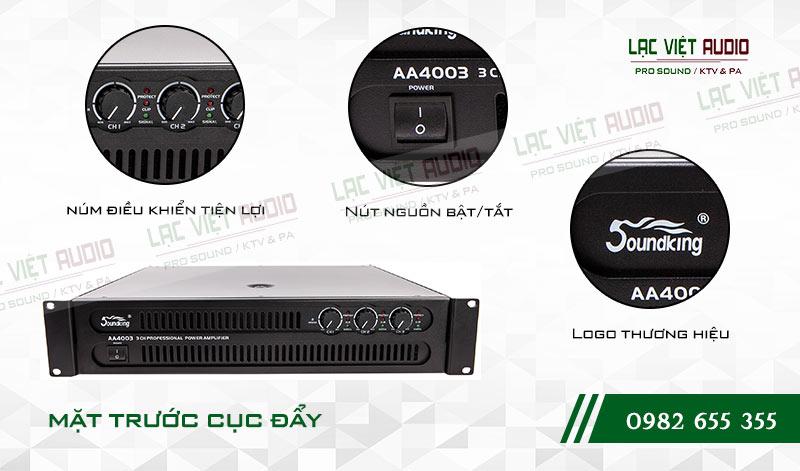 Tính năng độc đáo và nổi bật của sản phẩmCục đẩy công suất Soundking AA 4003