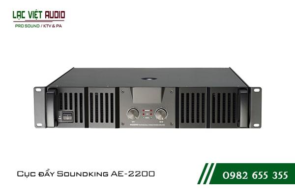 Giới thiệu về sản phẩmCục đẩy công suất Soundking AE 2200