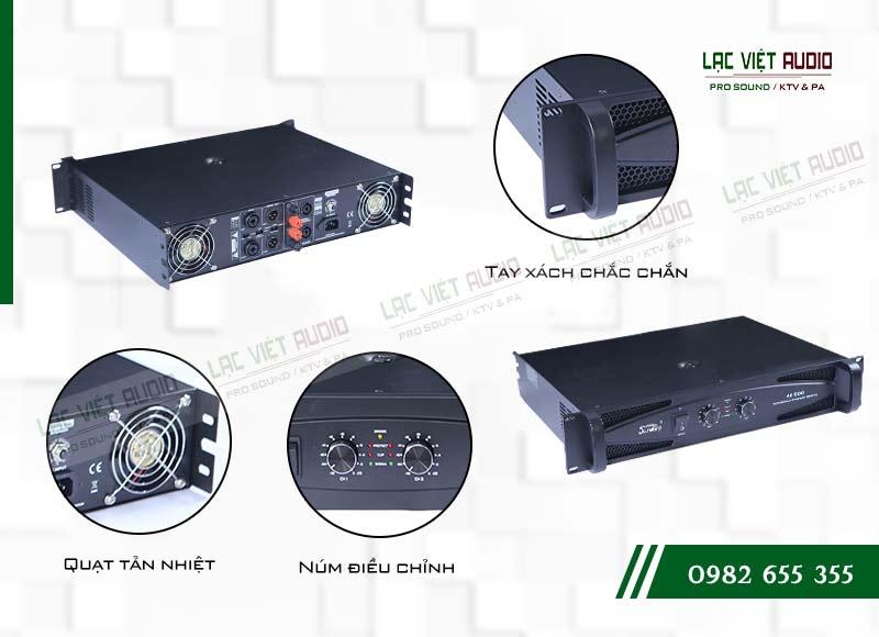 Tính năng độc đáo và nổi bật của sản phẩmCục đẩy công suất Soundking AE 1500