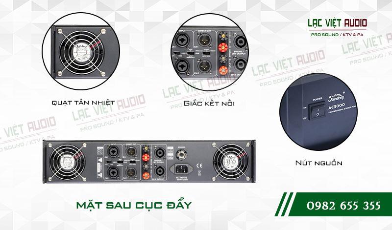 Tính năng độc đáo và nổi bật của sản phẩmCục đẩy công suất Soundking AE 3000