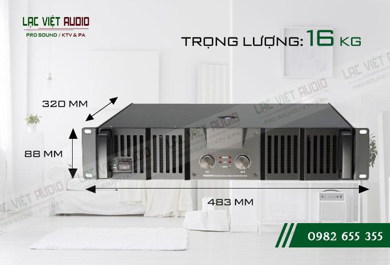 Thiết kế bên ngoài cực hiện đại của thiết bị Cục đẩy Soundking AE900
