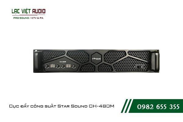 Giới thiệu về sản phẩmCục đẩy công suất Star Sound CH 480M