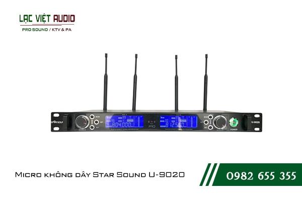 Giới thiệu về sản phẩm Micro không dây Star Sound U9020