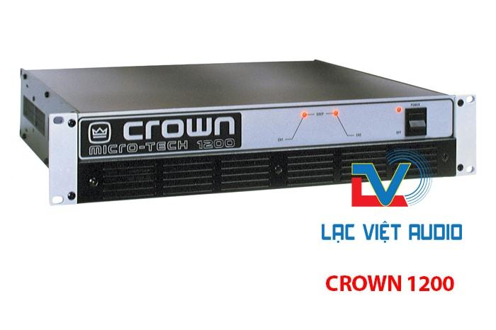 Thông tin Cục đẩy công suất crow 1200