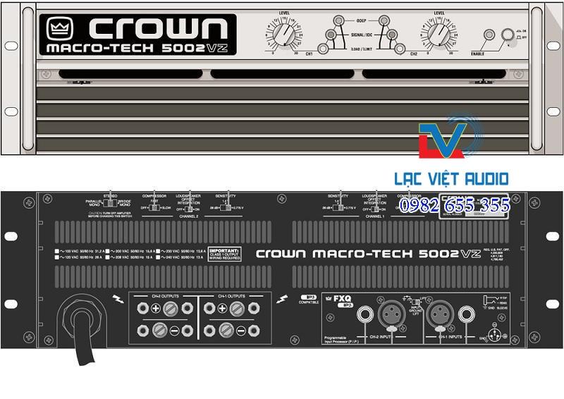 Thông tin Cục đẩy công suất crown 3600