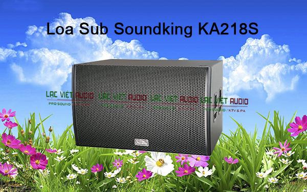 Tính năng loa Soundking KA218S