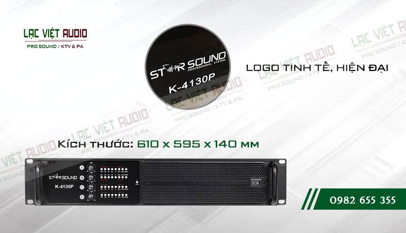 Thiết kế của cục đẩy công suất Star Sound K4130P