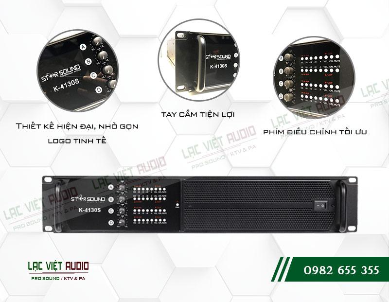 Thiết kế cục đẩy công suất Star Sound K4130S