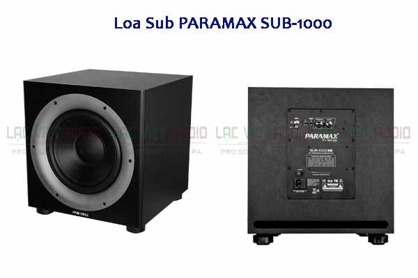 Tính năng Loa sub PARAMAX SUB-1000