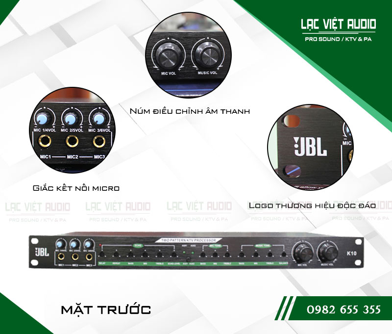 Thiết kế bên ngoài của sản phẩmVang cơ JBL K10