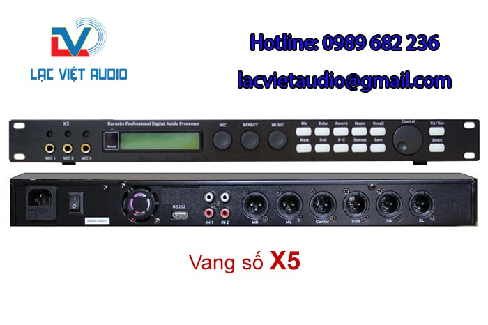 Vang số karaoke x5