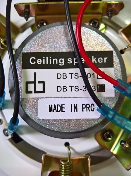 Mặt sau loa đồng trục 10W DB-TS303