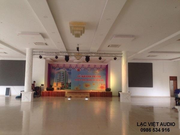 Lạc Việt Audio lắp đặt dàn âm thanh cho nhà hàng tiệc cưới Thúy Vinh