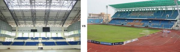 Hệ thống âm thanh nhà thi đấu và âm thanh sân vận động