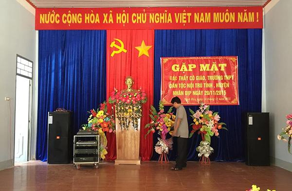 Dàn âm thanh nhà văn hóa Lạc Việt Audio