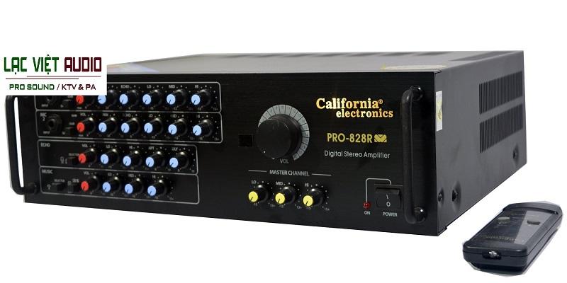 Amply karaoke California 828R và điều khiển