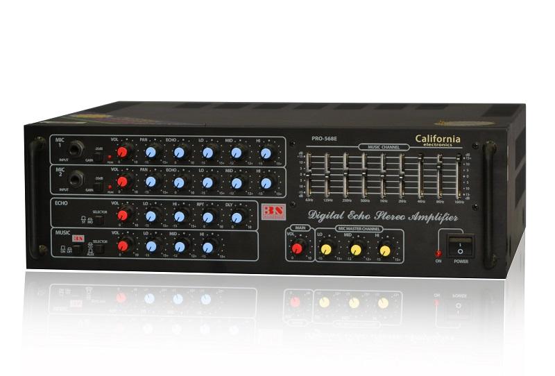 amply california 568E ghép với loa karaoke bose 301 series 5 cũng là lựa chọn không tệ
