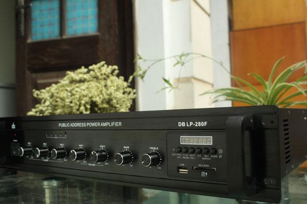 Amply liền mixer DB LP-280F