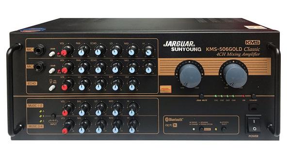 amply jarguar 506n gold classic là lựa chọn tuyệt vời nhất khi ghép với loa bose 301 series V