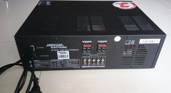Amply jarguar 604D được bảo hành lên đến 3 Năm