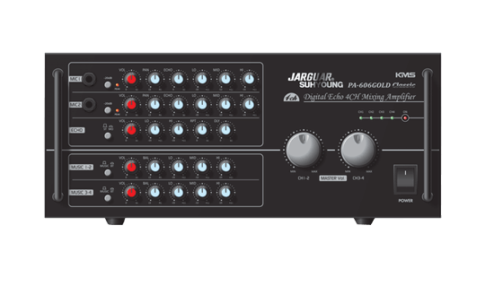 Amply Jarguar KMS PA-606 Gold Classic
