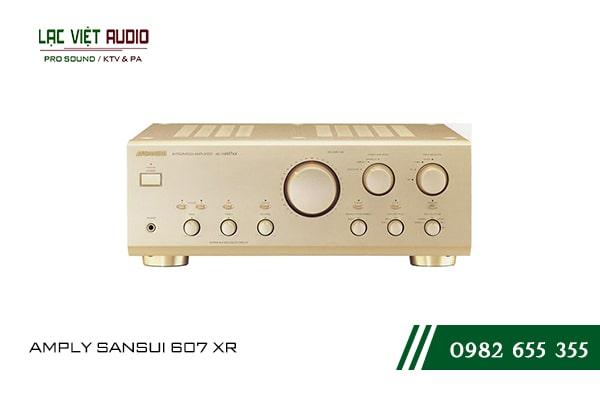 Giới thiệu về thiết bịAmply Sansui 607XR