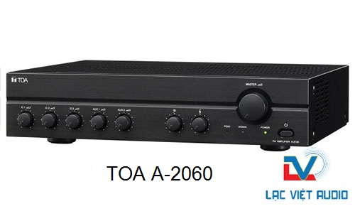 Amply TOA A-2060 tăng âm liền mixer 60W