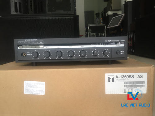 Lạc Việt phân phối amply TOA A-1360SS giá tốt nhất