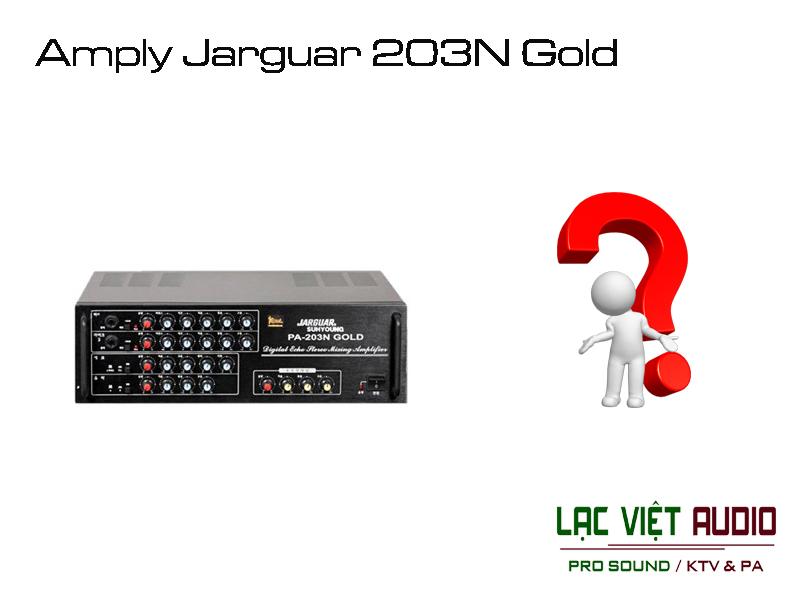 Amply Jarguar 203N Gold – Loại 12 sò