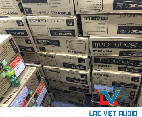 Công ty CP ĐT&XNK Audio Lạc Việt luôn sẵn các lại bàn mixer soundcraft để phục vụ khách hàng